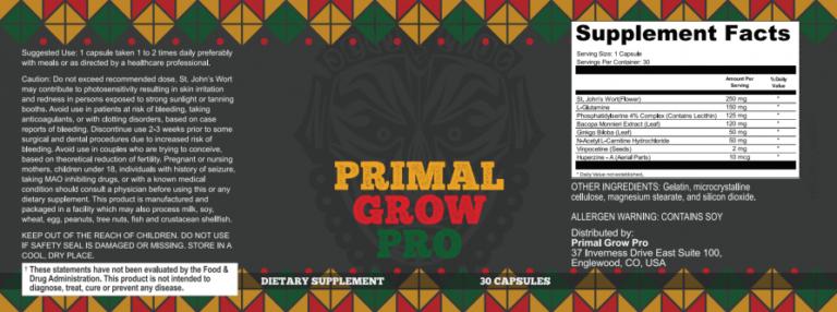 Primal Grow Pro Australia   60% OFF NOW   Wellness Diet